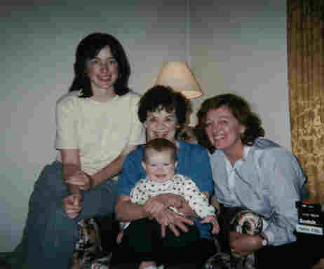 Four Generations - Margaret, Judy, Sheila, Kelly